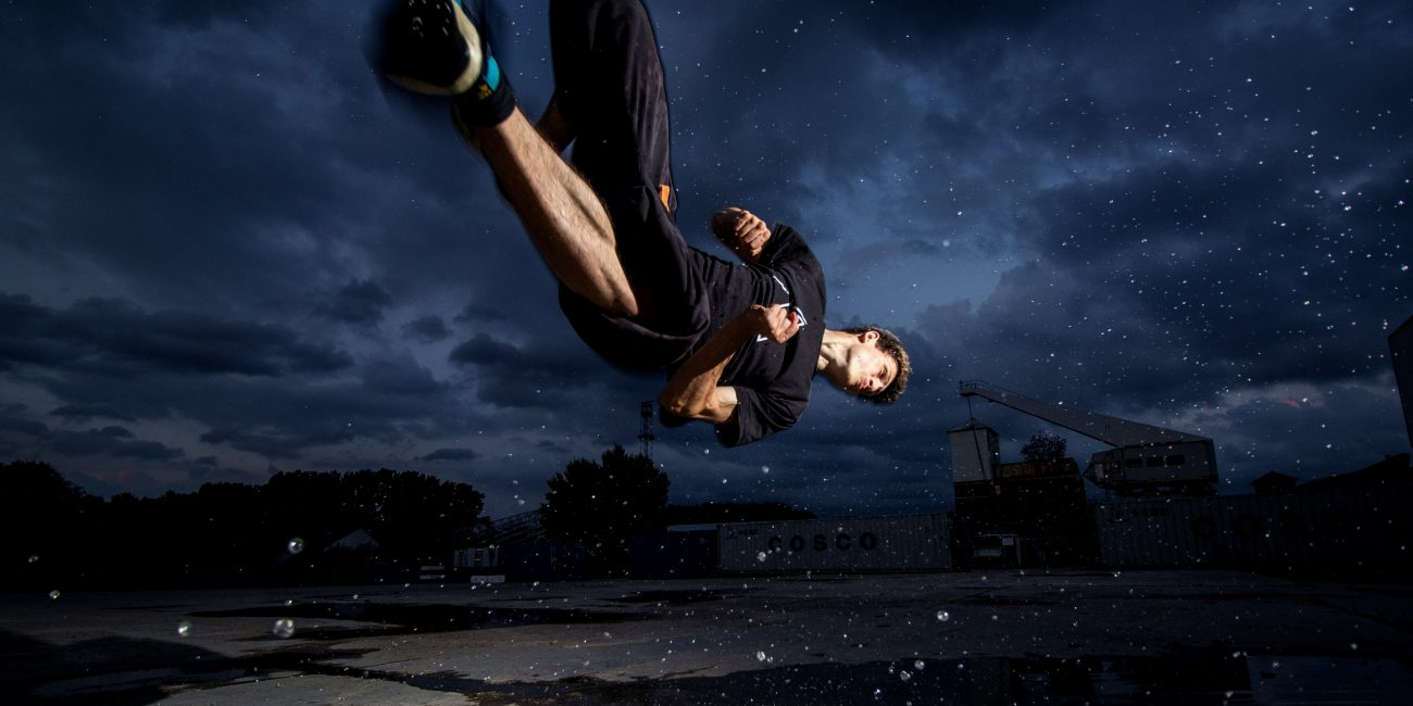 Patrick Peter Freerunning Athlet Cork Move Artistic Dome